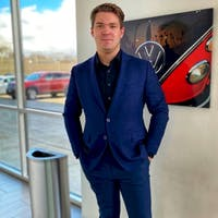 Connor Detloff at Luther Brookdale Volkswagen