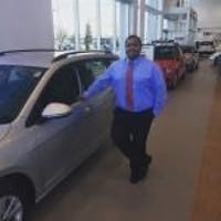 Najmi (Nudge) Basha at Luther Brookdale Volkswagen