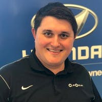 Alex Machado at Clay Cooley Hyundai of Rockwall