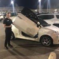 Geoffrey Pate at Darrell Waltrip Buick GMC