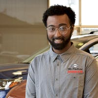 "Walid ""Moe"" Mohamad at McPhillips Nissan"
