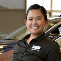 Allen-Marylaine Tejero at McPhillips Nissan