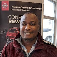 Valentine Anyanwu at McPhillips Nissan