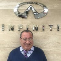 Vinny Falzarano at INFINITI of Bayside