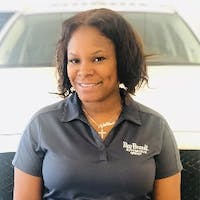 Christine Williams  at Ray Brandt Mazda