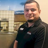 "Emanuel ""Manny"" Jimenez at Family Toyota of Burleson"
