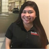 Noemi Mendez at Family Toyota of Burleson