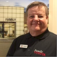 Stewart Cloer at Family Toyota of Burleson