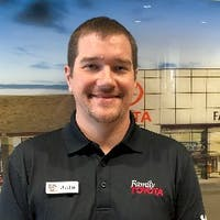 Justin Ernst at Family Toyota of Burleson