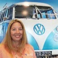 Cherrie Scally at Leesburg Volkswagen