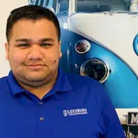 Francisco Murillo at Leesburg Volkswagen