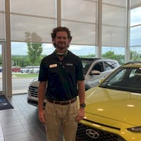 Colin Baxley at Crain Hyundai of Fayetteville