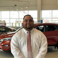 Jon Anson at Terry Lee Hyundai
