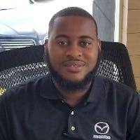 Tevin  Gibbs at Mazda of Palm Beach