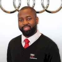 Elijah  Antoine at Audi Allentown