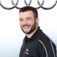 Will Schaninger at Audi Allentown