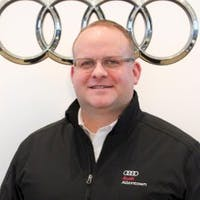 Adam Welsh at Audi Allentown