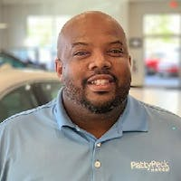 Antron Hazley at Patty Peck Honda