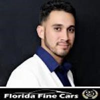 Juan Gutierrez at Florida Fine Cars West Palm Beach