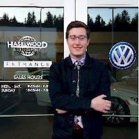 Michael Ashley at Haselwood Volkswagen Hyundai