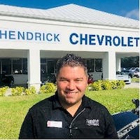 Mark Henry at Rick Hendrick Chevrolet Naples