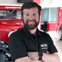 Andrew Segadelli at Bourne's Auto Center