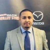 Kevin Persaud at Mazda of Valley Stream
