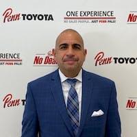 luis morales at Penn Toyota