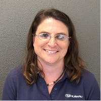 Sarah Hageman at Palm Springs Subaru