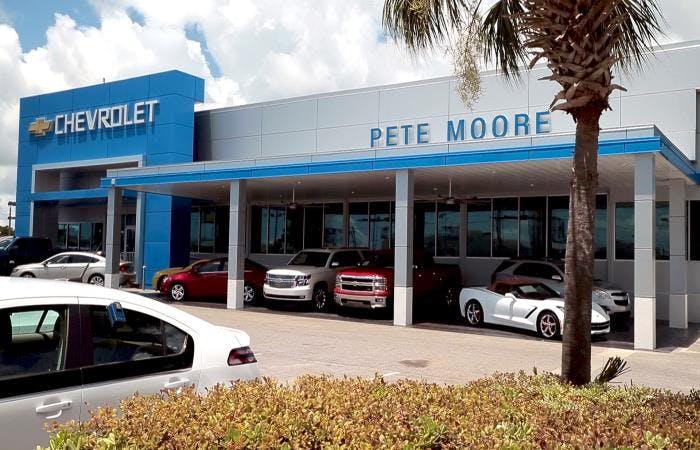 pete moore chevrolet service center chevrolet used car dealer service center dealership ratings pete moore chevrolet service center