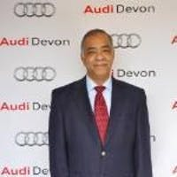 Alan Cogbill at Audi Devon