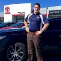 """Michael """"Mikey"""" Kuhn at Phillips Toyota"""