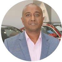 Teboo Abbas at Auto Web Expo