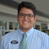 Manny Mayorga at Boyd Chevrolet Cadillac Buick