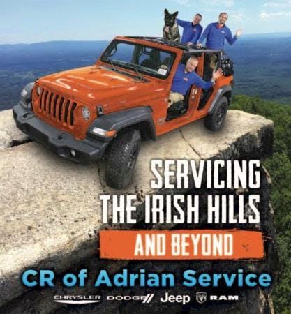 C R Chrysler Dodge Jeep RAM of Adrian, Adrian, MI, 49221