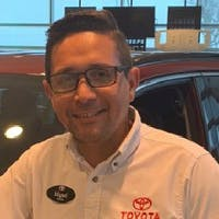 Miguel Pichardo at Del Toyota
