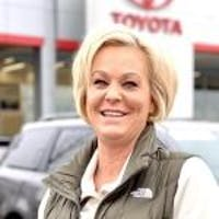 Brenda  Justak at Ed Martin Toyota