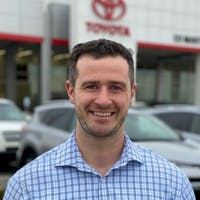 Joshua  Tulledge at Ed Martin Toyota