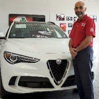 Ala H. at Essence Maserati Alfa Romeo