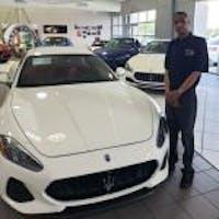 KEVIN ROBINSON at Essence Maserati Alfa Romeo