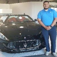 Edgar Chavez at Essence Maserati Alfa Romeo