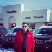 Ahmed Ashmawy at Fuccillo Chrysler Jeep Dodge RAM of Amsterdam