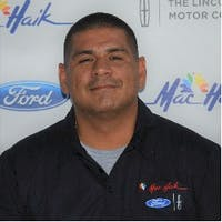 Rene Chavira at Mac Haik Ford Lincoln