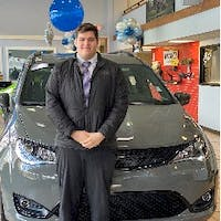 Camden Chamberlain at Milford Chrysler Dodge Jeep RAM