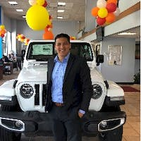 "Gilberto ""Rocky"" Rosario at Milford Chrysler Dodge Jeep RAM"