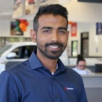Ash Rahman at Suburban Toyota of Farmington Hills