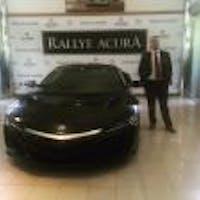 Julio Herrera at Rallye Acura