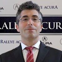 Joe Filardo at Rallye Acura