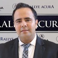 Reza Lavaie at Rallye Acura