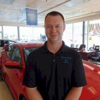 John Geiger at Randy Kuehl Honda